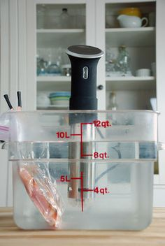 Sous Vide Cooking Time by Thickness