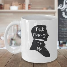 We found the best bookish gift ideas on Etsy, including this fun Christmas gift idea for women: a witty Pride and Prejudice coffee mug.