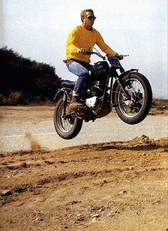 Mr McQueen on a Desert Sled