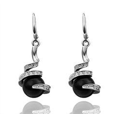 에서 귀걸이 18 천개 골드 아름다운 상감 크리스탈 귀걸이 18 천개 골드 인기있는 보석 도매 가격 LGPE255에 관한 고품격…