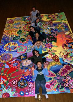 Circle Painting - Collaborative art organizers