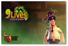 9 Lives: Casey and Sphynx para Android es un juego en el que los usuarios toman el rol de un torpe guardia de seguridad en un museo, que durante su turno nocturno, rompe accidentalmente una escultura de oro egipcia que representa una deidad y con ello desata una maldición sobre el mismo. A partir de ese momento lo acompañará a todas partes un gato que básicamente simboliza las nueve vidas que tiene el personaje, aunque también desempeña otras funciones.