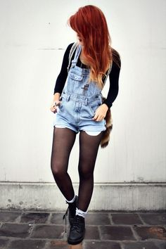 wish overalls were in style.