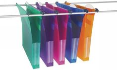 Rexel Multifile Extra Assorted Foolscap 30mm Suspension File (10 Pack) 2102574