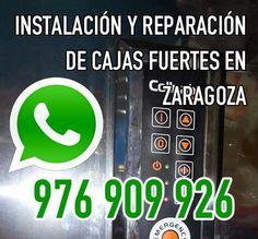 Venta y reparación de cajas fuertes en Zaragoza