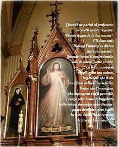 Blog cattolico interamente dedicato al Diario di Suor Faustina e al culto della Divina Misericordia e Gesù Misericordioso.