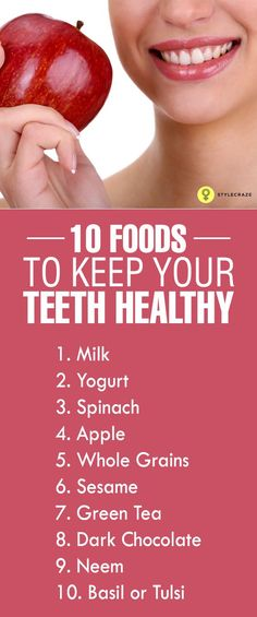 Top 10 Foods To Keep Your Teeth Healthy