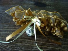 Cthulhu D20 dice garter gamers wedding bridal accessory geek rpg cthulhu dice beige dungeons and dragons dice garter pathfinder by MageStudio on Etsy