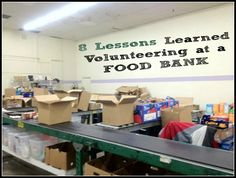 Can you donate expired food to a food bank? Where is the nearest food bank for donations? 8 Lessons I Learned Volunteering at a Food Bank you need to know. Junk Food, A Food, Homeless Care Package, Little Free Pantry, Expired Food, Food Insecurity, Food Drive, Soup Kitchen, Food Bank