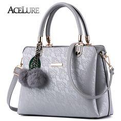 08ccf6d00364 ACELURE Women Fur Handbags High Quality Printing Women Leather Shoulder bags.  Hand Bags 2017Quality PrintingFloral Tote BagsCrossbody BagSatchel BagPu ...