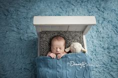 Baby Boy Sleeping Sweet Dreams in Baby Bed » DianeH Photography
