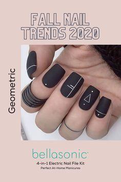 Matte Acrylic Nails, Acrylic Nails Coffin Short, Acrylic Nail Designs, Acrylic Nails Almond Short, Plaid Nail Designs, Short Gel Nails, Classy Nail Designs, Fall Nail Designs, Almond Nails