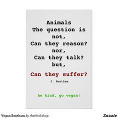 Vegan Bentham Poster