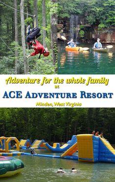 Excellent Adventures at ACE Adventure Resort in WV - ACE Adventure Resort – adventure for the whole family in Minden, WV - Adventure Resort, Adventure Tours, Family Adventure, Adventure Travel, Family Camping, Tent Camping, Family Travel, Camping Tips, Camping Essentials