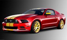 Classic Car, Classic Red Ford Mustang: Amazing Ford Mustang History First to Fifth Generations