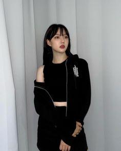 South Korean Girls, Korean Girl Groups, Adidas Jacket, Bomber Jacket, G Friend, Korean Singer, Hoodies, Sweaters, Jackets