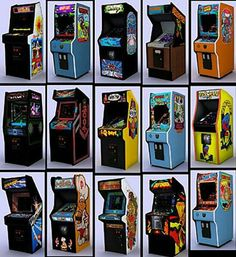 Video arcade cabinets