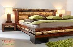 luxus Bambusbett Eco