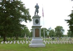 The Albany Rural Cemetery, Civil War Soldiers Lot