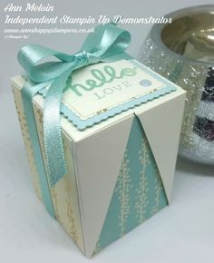Ann's Happy Stampers: Drop Sided Box In A Box!!