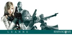 Resonance of Fate: Leanne (See artist link)