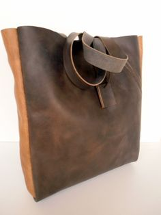 Leather Tote Bags, Brown Leather Totes, Brown Leather Bags, Leather Bags df78743c26b