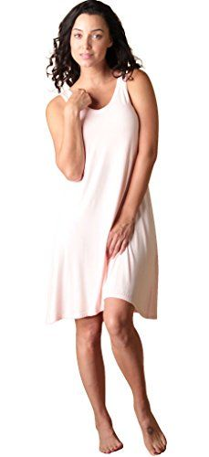 Faceplant Dreams Dreamwear Bamboo V-Neck Nightshirt at Amazon Women s  Clothing store  4b7d975cd