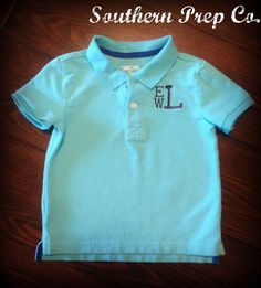 Little boy monogram. TaylorMade Boutique can totally do this for Carson.