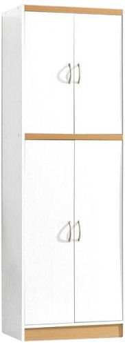 HODEDAH IMPORT 4Door Pantry White * More info could be found at the image url. We are a participant in the Amazon Services LLC Associates Program, an affiliate advertising program designed to provide a means for us to earn fees by linking to Amazon.com and affiliated sites.
