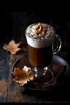It's never really the wrong time of year to have pumpkin flavor in your toddy, especially when there's spicy whipped cream involved.  Get the recipe at The Spice Train.    - Redbook.com