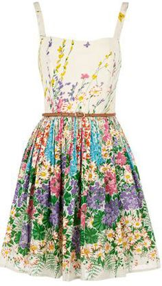 Floral summer dress - oh my goodness I love it!