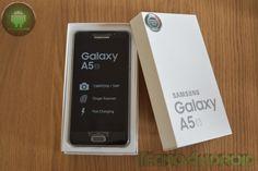 Samsung Galaxy A5 2016: unboxing e prima accensione - http://www.tecnoandroid.it/samsung-galaxy-a5-2016-unboxing-accensione/ - Tecnologia - Android
