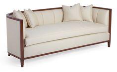 60-0167 Channel-Back Sofa