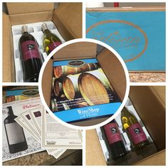 I love getting wine delivered to my doorstep via our wine club!  Find out how you can too:  http://wineshopathome.com/wine-club/?rep=shazwinecellar #wsah #wineclub