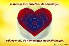 Teplán Ervin, A szerető szív...