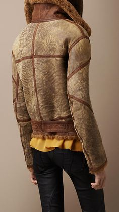 SHEARLING AVIATOR JACKET   Burberry Aviator Jackets, Shearling Jacket,  Luxury Branding, Urban Fashion 3048843477b