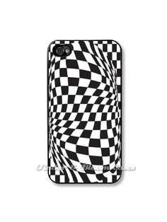 iPhone 4 case   Op Art Checkers Fits an  Apple iPhone 4 by TaBCase, $15.99