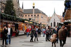 Auch der Weihnachtsmarkt am Marienplatz in München öffnet heute wieder! #Weihnachtsmarkt Bayern #Christkindlesmarkt http://www.bayern.by/bilderbuchwinter