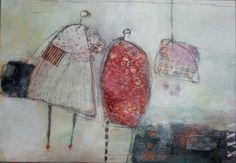Acryl auf Leinwand 130 x 90 cm von Helmtrud Kraienhorst