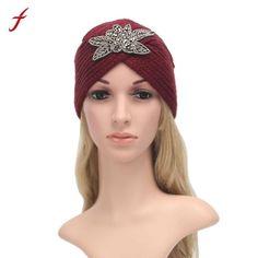 51bdffebe37 Fashion autumn winter hats unisex warm knit crochet hat braided casquette  turban headdress cap for women
