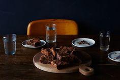 Mario Batali's Double-Chocolate Pot Brownies {THE POT IS OPTIONAL}