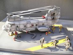 CH-46E Sea Knight by Peter Van Buren (Academy 1/48)