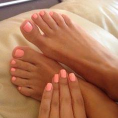 Apricot nails