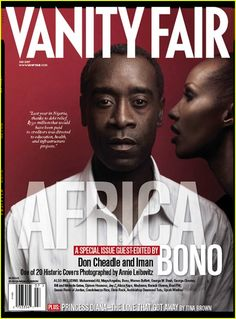 Vanity Fair Africa Issue: Don Cheadle and Iman