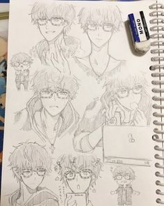 Discovered by jovana. Find images and videos about mystic messenger on We Heart It - the app to get lost in what you love. Mystic Messenger Fanart, Mystic Messenger Memes, Kik Messenger, Anime Guys, Manga Anime, Anime Art, Cute Drawings, Drawing Sketches, Saeyoung Choi