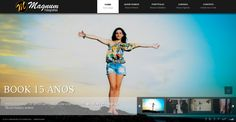 Magnum Fotografias- Tecnologia utilizada: PHP, JavaScript, JQuery, HTML5, CSS3, MySql,