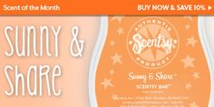 April 2013 #Scentsy Scent of the Month! It's like a sunny shore washed by clean spring showers.