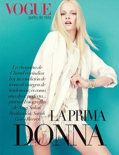 Ginta Lapina by Nagi Sakai | Vogue Latin America April 2012