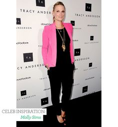 The key to layering your necklaces so it looks stylish, not sloppy @Glo.com celeb inspiration: molly sims