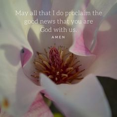 Something a little different this weekend. I usually quote from Scripture for Weekend One Word, but I've been reading the daily office from The Divine Hours: Prayers for Springtime most mornings an...